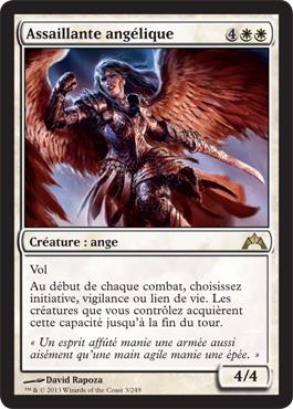 Assaillante angélique