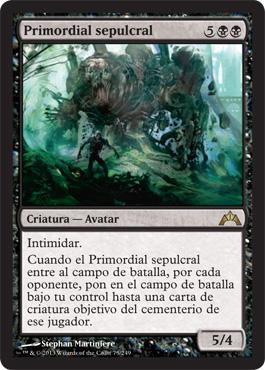 Primordial sepulcral