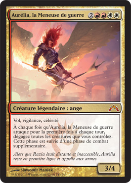 Aurélia, la Meneuse de guerre
