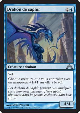 Drakôn de saphir