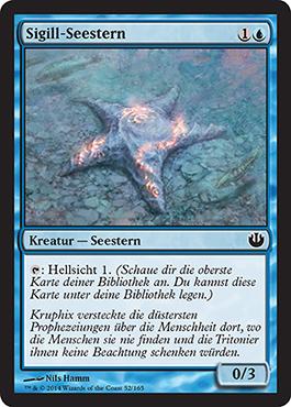 Sigill-Seestern