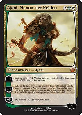 Ajani, Mentor der Helden