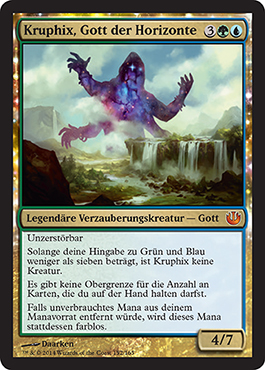 Kruphix, Gott der Horizonte