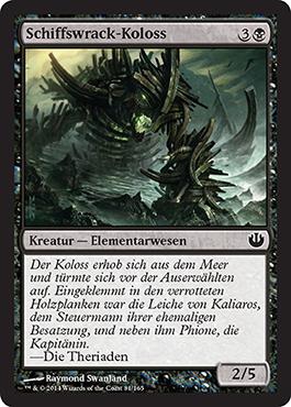Schiffswrack-Koloss