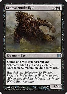 Schmatzende Egel