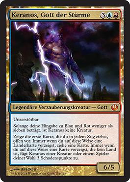 Keranos, Gott der Stürme