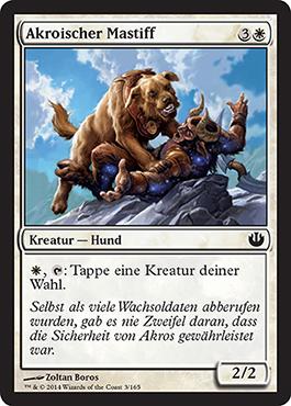 Akroischer Mastiff
