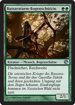 Bassaraturm-Bogenschützin