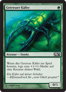 Getreuer Käfer