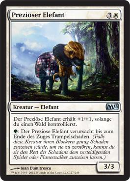 Preziöser Elefant