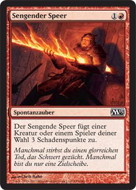 Sengender Speer