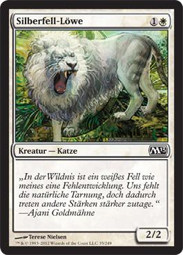Silberfell-Löwe
