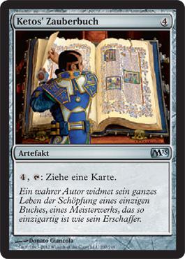 Ketos' Zauberbuch