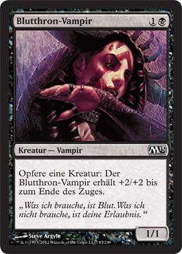 Blutthron-Vampir