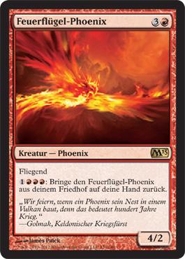 Feuerflügel-Phoenix