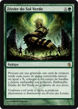 Green Sun's Zenith