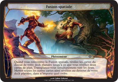 Fusion spatiale