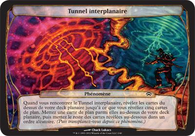 Tunnel interplanaire