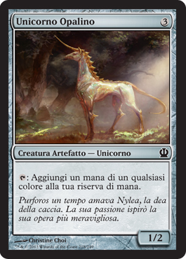 Unicorno Opalino