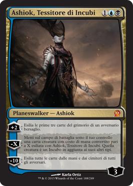 Ashiok, Tessitore di Incubi