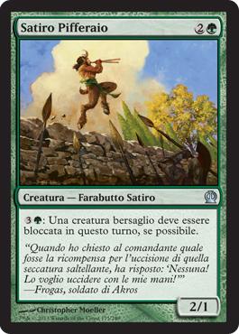 Satiro Pifferaio