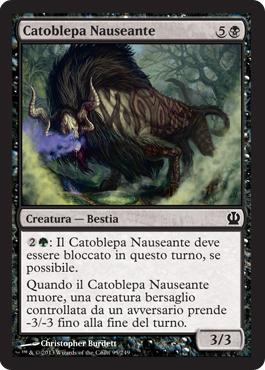 Catoblepa Nauseante