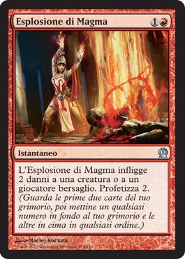 Esplosione di Magma
