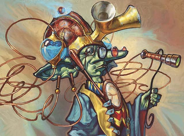 Goblin Flectomancer art by Matt Cavotta