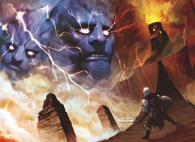 Thunderheads final art by Hideaki Takamura