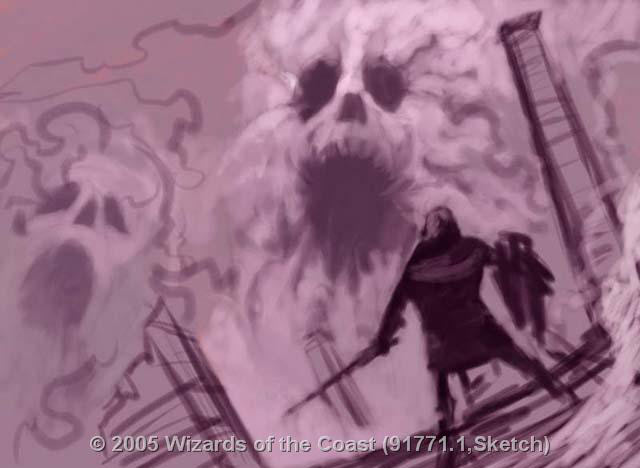 Thunderheads sketch by Hideaki Takamura