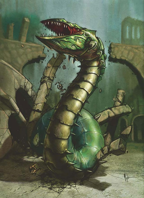 Wurm token art