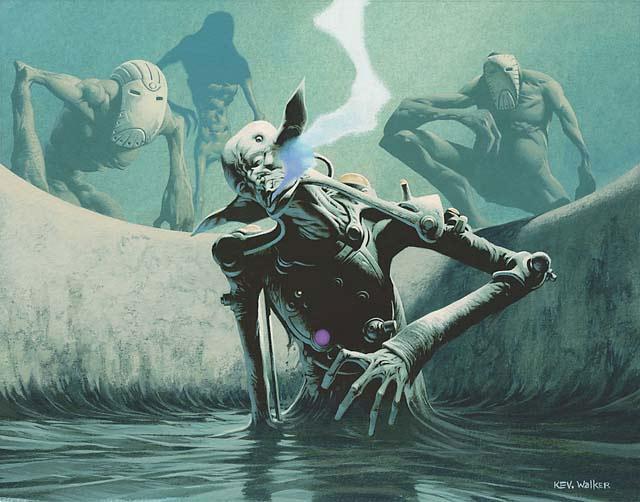 Douse in Gloom art by Kev Walker