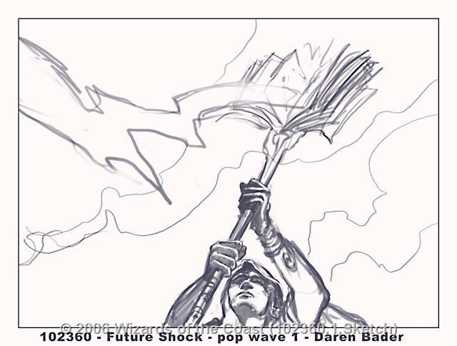 Riddle of Lightning sketch by Daren Bader