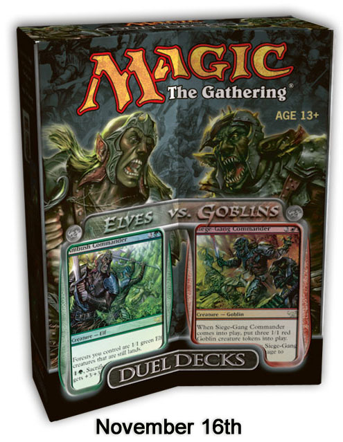 Elves vs. Goblins Decks