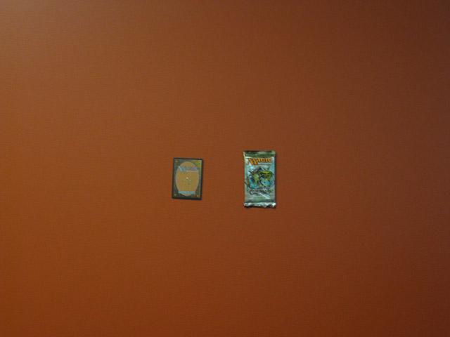 A Magic card and a Shadowmoor Booster