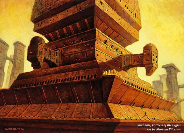 Sunhome, Fortress of the Legion final art by Martina Pilcerova