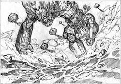 Arcane Sorcery Sketch #2