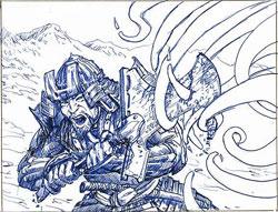 Arcane Sorcery Sketch #5