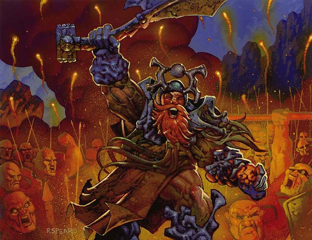 Balthor the Stout art by Ron Spears