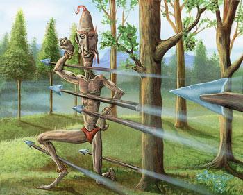 Art by Edward P. Beard, Jr.