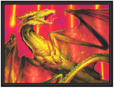 Limited Edition Collection - Shivan Dragon - Canvas