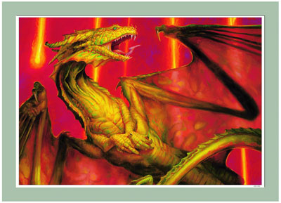 Limited Edition Collection - Shivan Dragon - Print