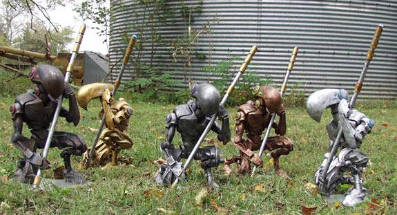 Myr sculptures