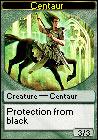 Ravnica Centaur token in Magic Online