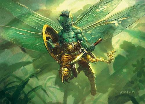 Ravnica faerie token art