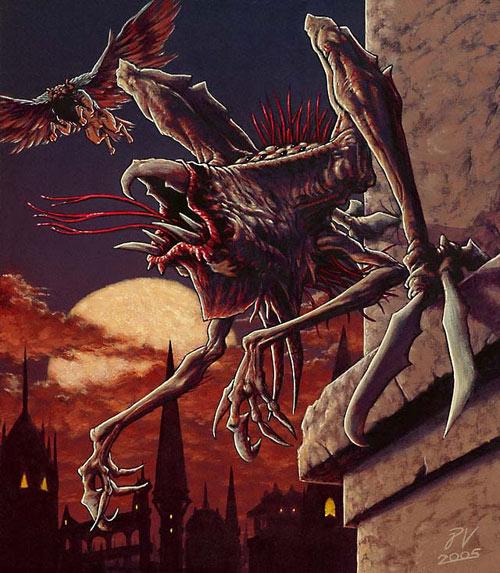 Ravnica Horror token art by Pete Venters