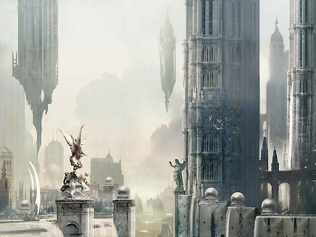 Ravnica Plains art by Stephan Martiniere