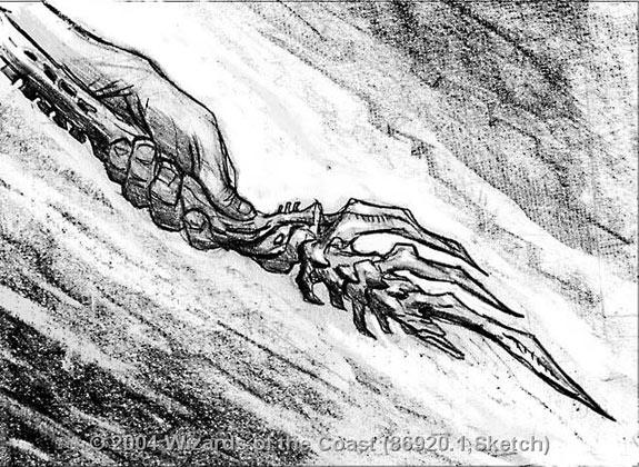 Rod of Ruin sketch 1