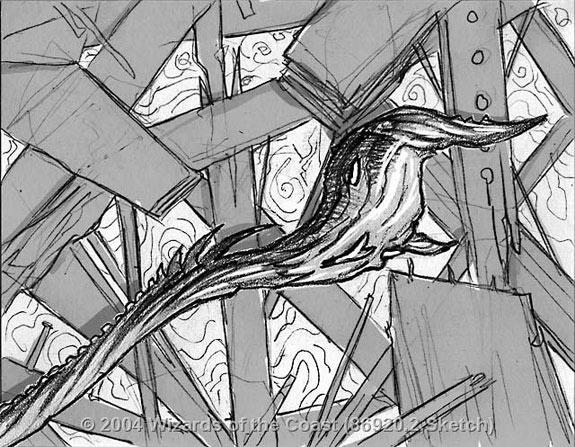 Rod of Ruin sketch 2