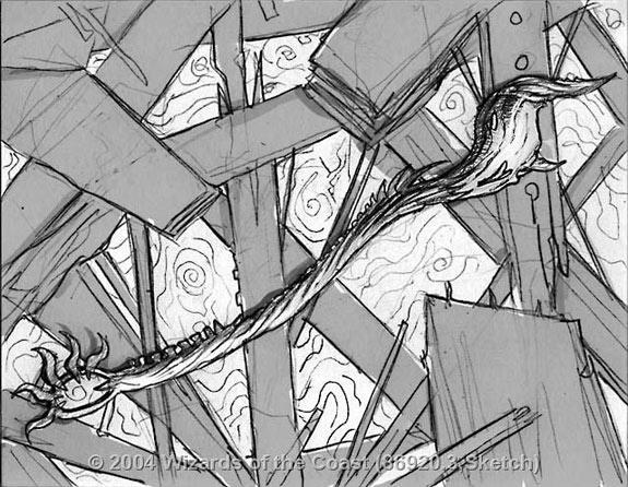 Rod of Ruin sketch 3